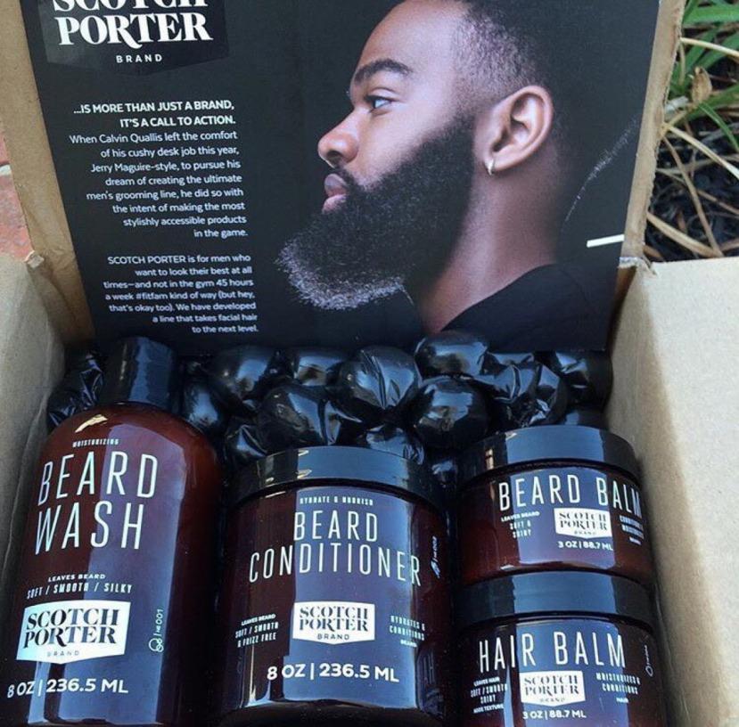 maintenance kit for black men with beards