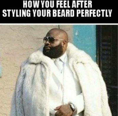 """rick ross, black guy beards and 4 Easy Ways To Get Rid of Patchy Beard Problems For the African American man, patching is obviously a real issue. It happens quite often with black men and can deter you from continuing you on your quest for a full, luscious beard. Don't be discouraged by this, as it is a manageable issue. To fix this, following all of the steps above is a great start, but as a recap and to shed some new light, here are some great tips to fill in patches: Oils - To start, oils such as castor and chili are fantastic in aiding in patches. These oils help increase the number of hairs grown and will act as a """"kick-start"""" to filling in patches quicker. Micro-needling - Getting poked with needles doesn't sound like fun but may be your quick fix to patches. This should be done professionally, and really doesn't hurt at all! Keep Face Clean - As I've stressed throughout this, keeping your face clean is crucial. This will also aid in filling in patches, and should be done so frequently, such as 2-3 times daily. Clean Diet- Nutrition also plays a key role in helping with patches. A well-balanced diet will help promote hair growth, and with the right vitamins, you should see results quicker than you may think, both in your hair growth, and overall health."""