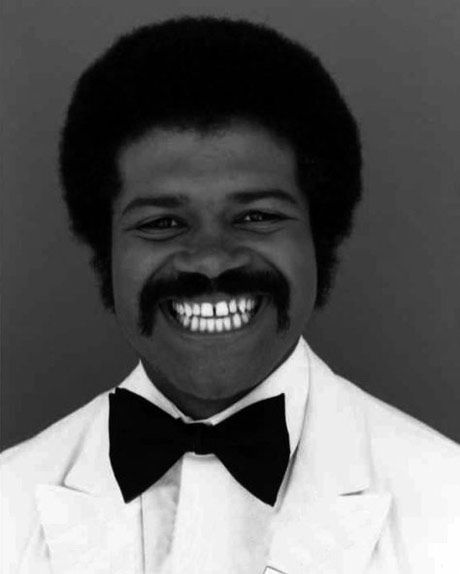 african american with Moustache